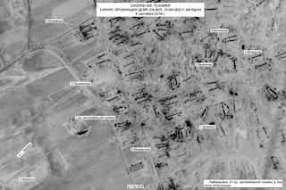 Foto Satelit Bukti AS Selundupkan Minyak Suriah