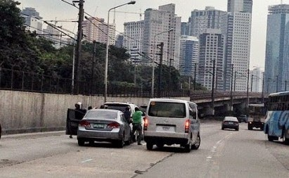 EDSA Viral Photo, Van Recovered