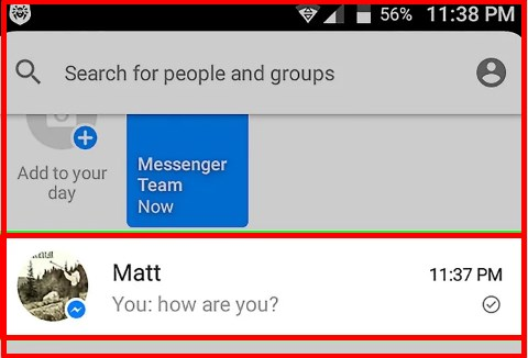 how to delete messages on messenger 2017