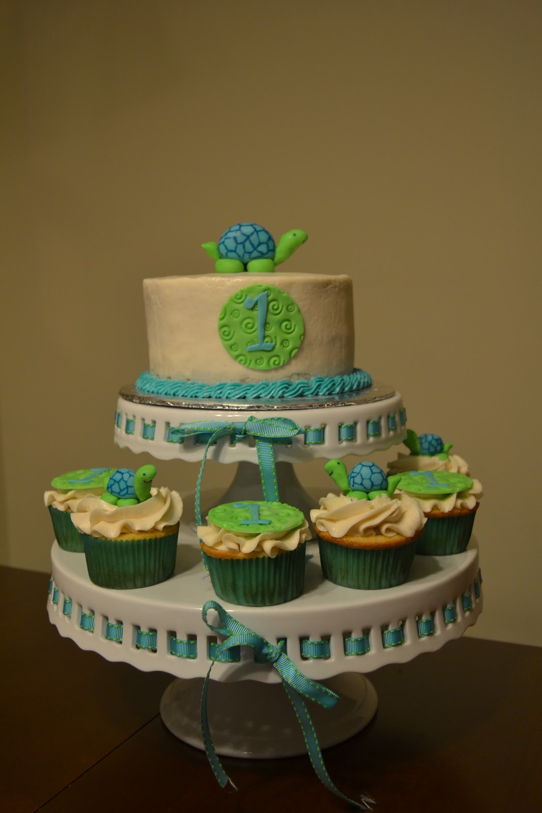 Cakes by Lala: Turtle themed first birthday - photo#2