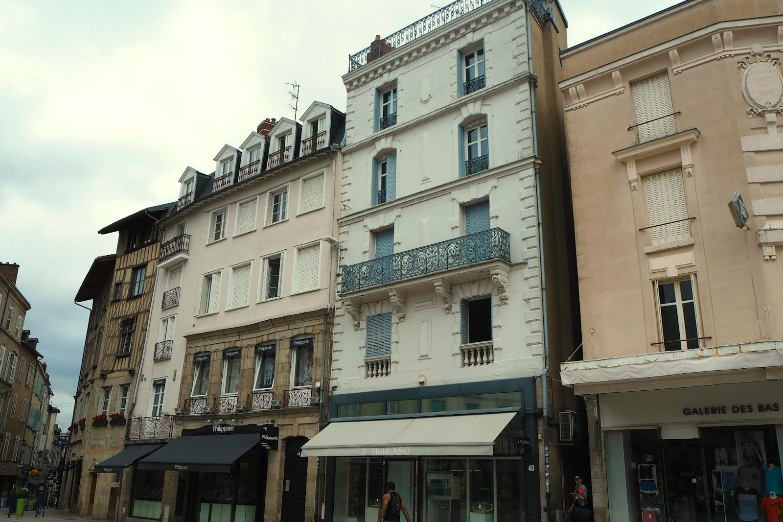 Buildings in Limoges