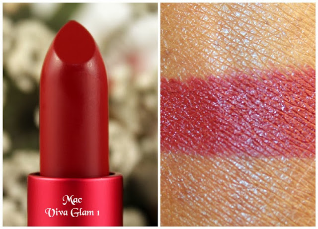 Mac Viva Glam 1 Lipstick and Lipglass