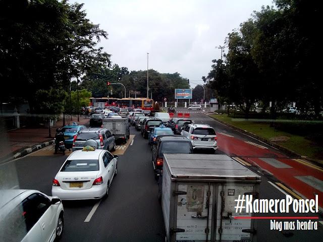 Salah Satu Sudut Jalanan Kota Jakarta - Blog Mas Hendra