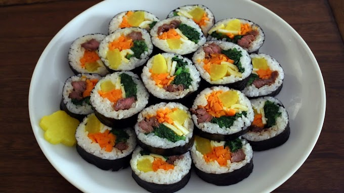 How to Make Kimbab in Your Own Home