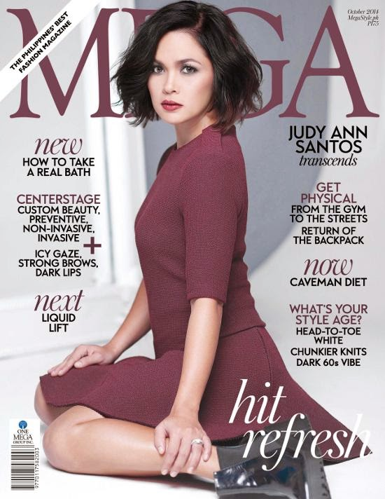 Judy Ann Santos-Agoncillo cover of Mega