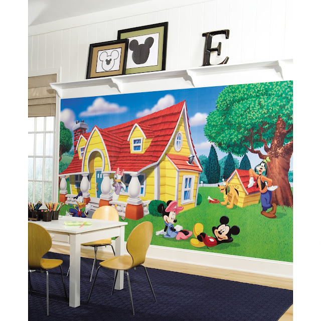 Mickey Mouse Wall Mural Disney Wallpaper