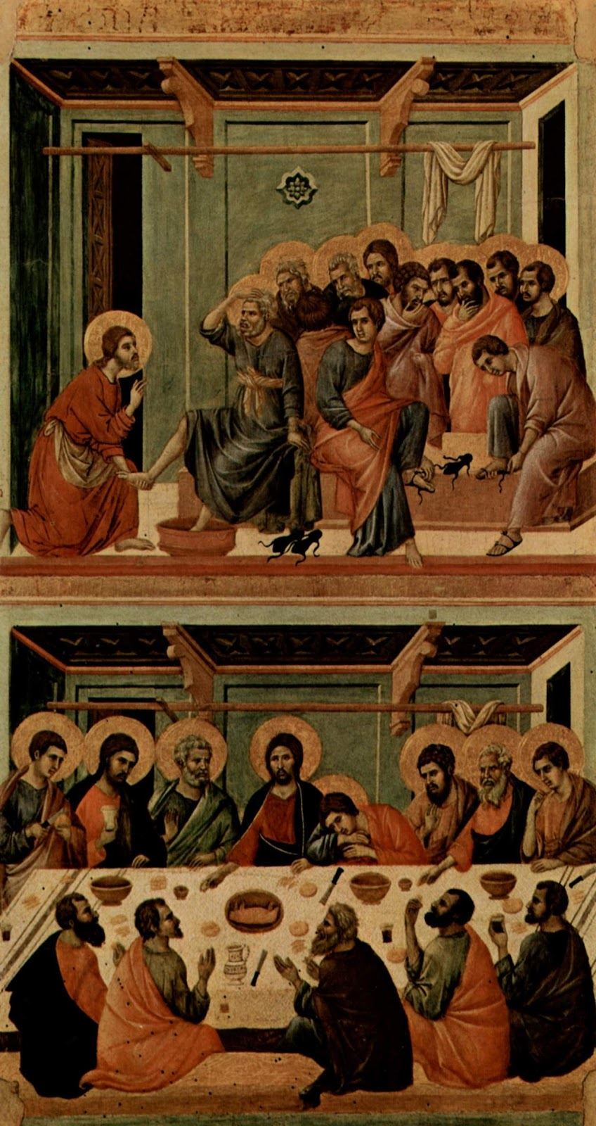 Holy Thursday Last Supper Craft