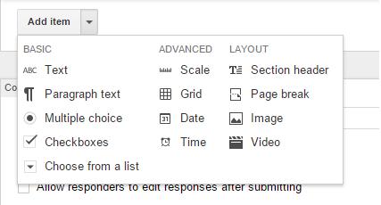 Cara Membuat Formulir Online dengan Google Forms