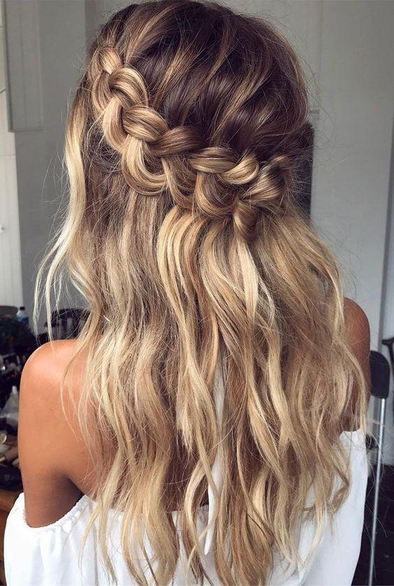Boho Braided Hair Style