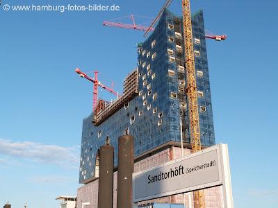 Hamburg Elbphilharmonie Sandtorhöft