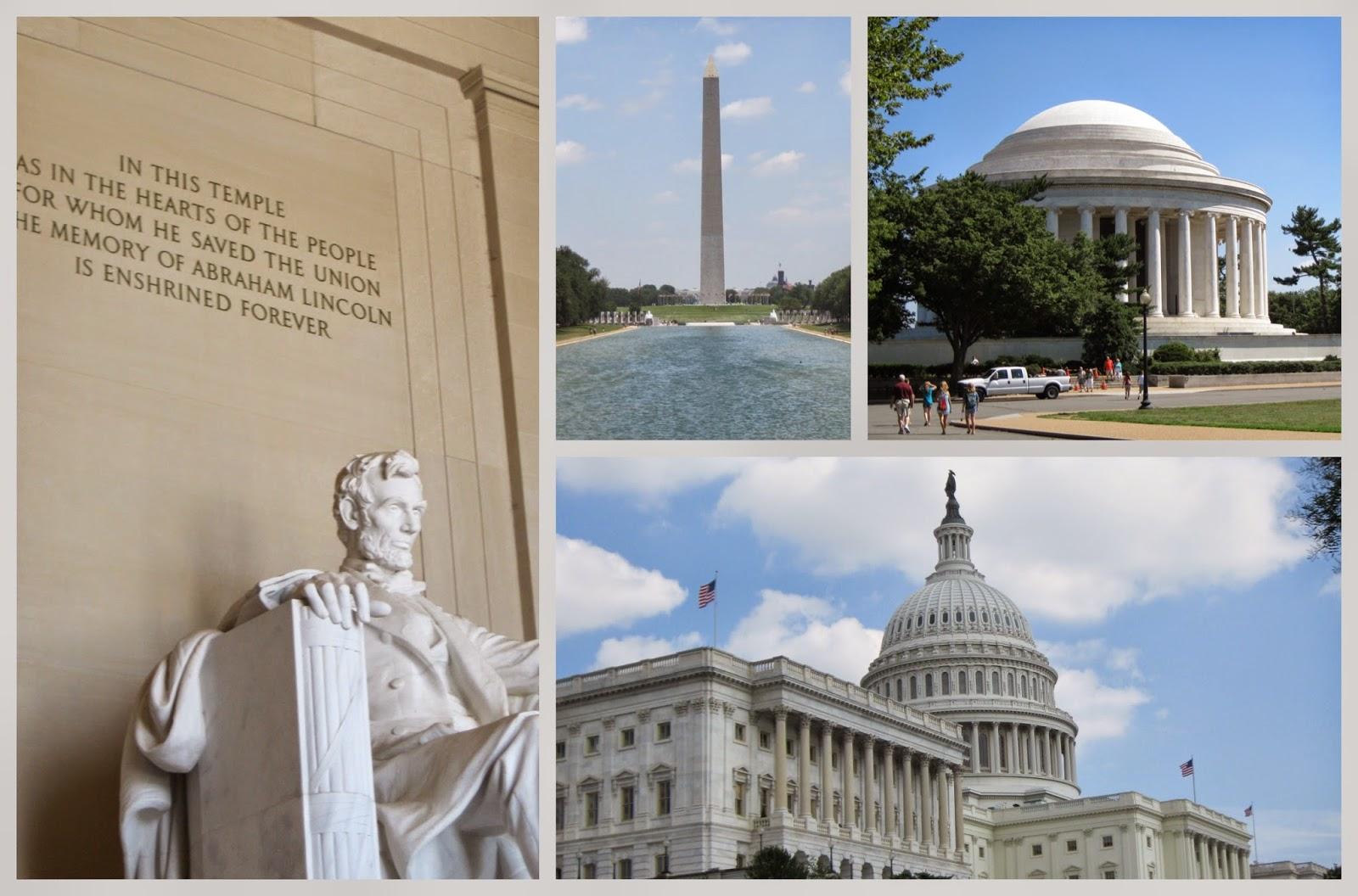 Collage: Washington DC, June 2010