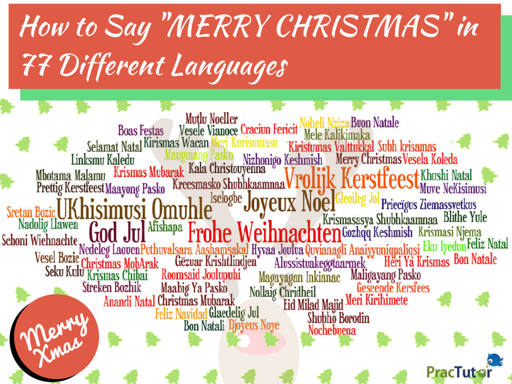 How To Say Merry Christmas In Different Languages Trekking Buzz