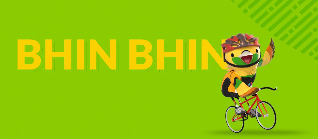 Maskot Asian Games 2018 - Bhin Bhin si Burung Cendrawasih
