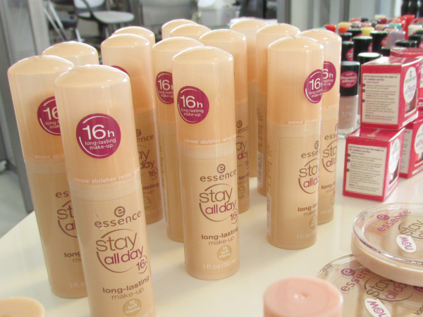essence Bloggerevent München 2014 Stay all day makeup, Gesicht