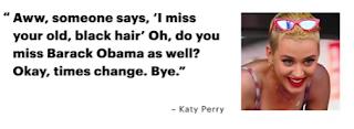 Katy Perry Barack Obama