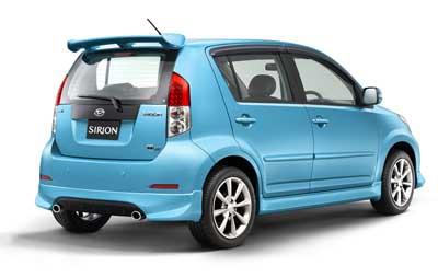Spesifikasi Harga Daihatsu Sirion SPESIFIKASI DAN HARGA