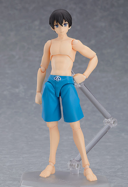 Figuras: Imágenes de figma Male Swimsuit Body (Ryo) - Good Smile Company