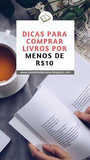 Onde e como comprar livros baratos - por menos de R$10!