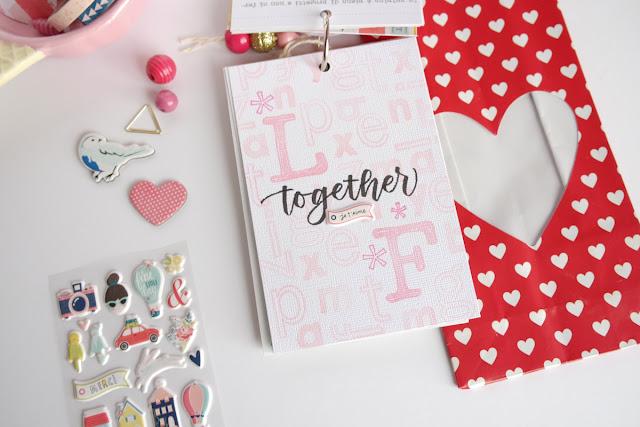San Valentino 2017 | scrapbooking mini album dettagli5 www.kkushi.com