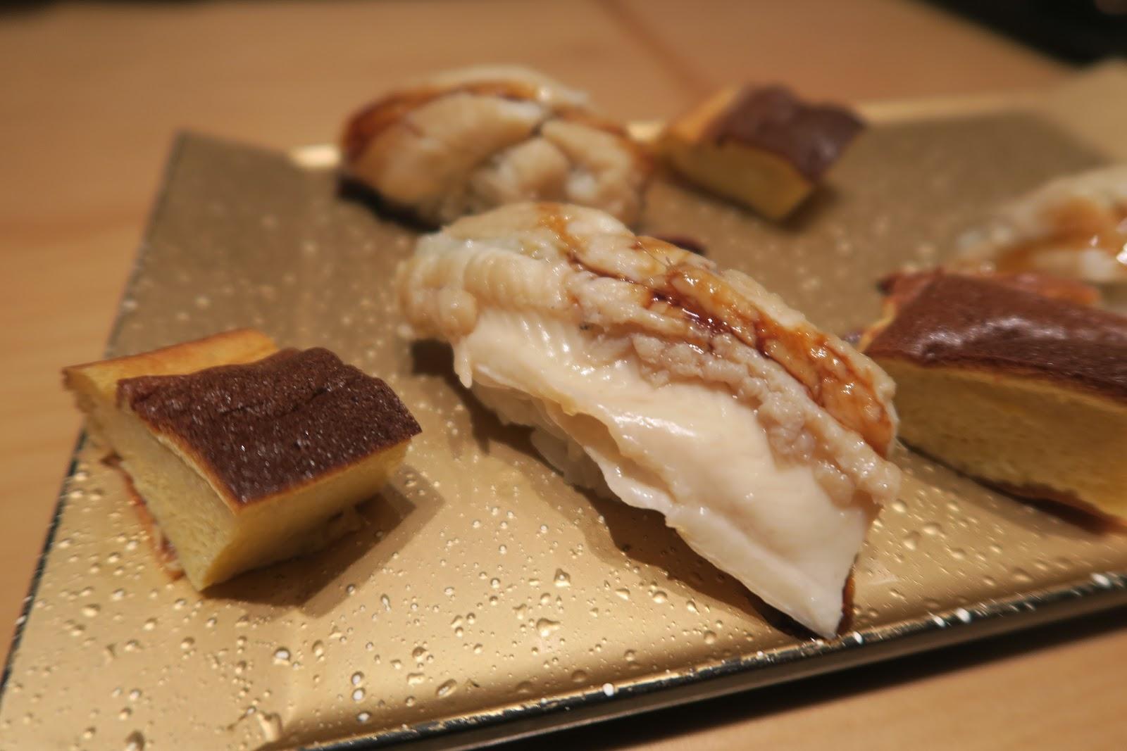 Omakase sushi nigiri tokyo ten sushi