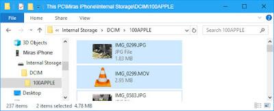 Cara Memindahkan Foto dari iPhone ke PC/Laptop - dcim apple