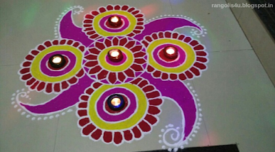Attractive Deep Jyoti Rangolis