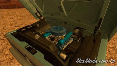 Mod Ford F-100 70' (Sadler) para GTA SA (motor)
