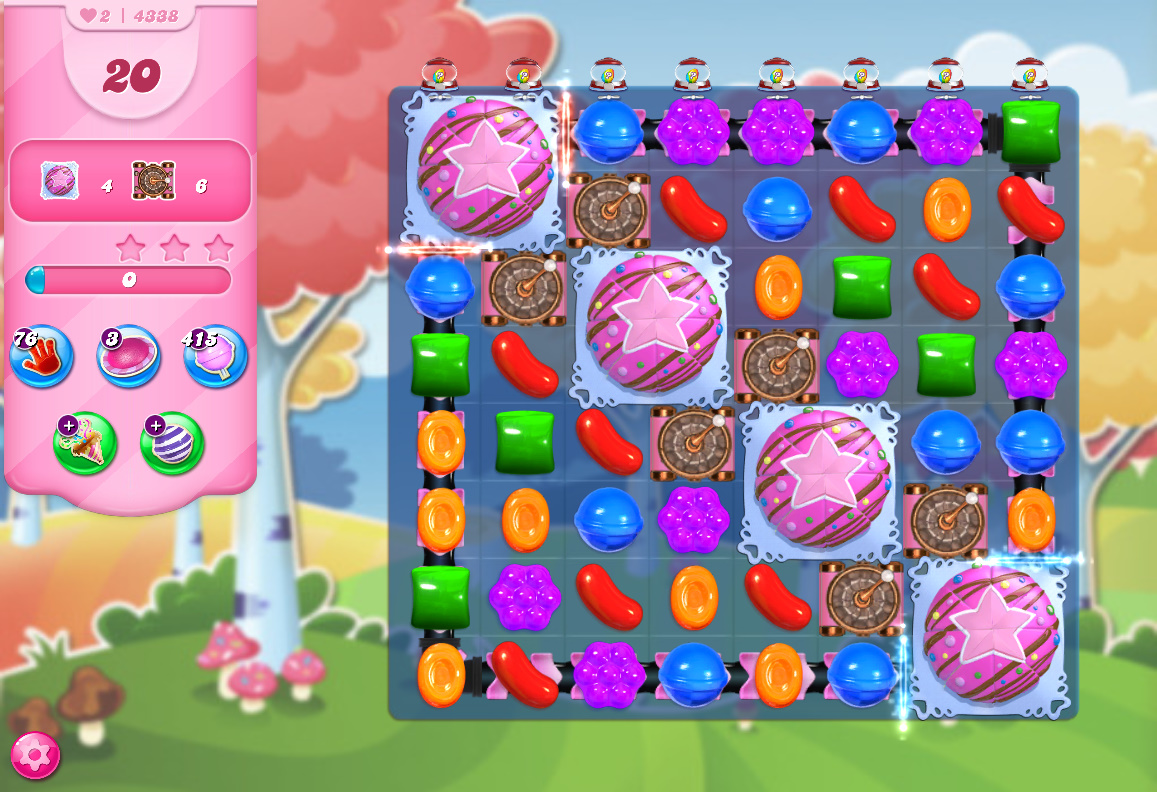 Candy Crush Saga level 4338