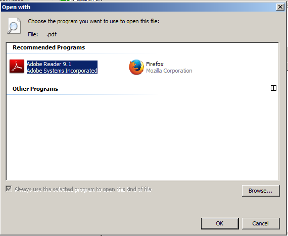 set default program windows 7