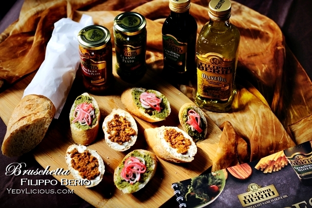 Easy bruschetta recipe with filippo berio olive oil classic pesto easy bruschetta recipe with filippo berio olive oil classic pesto and sun dried tomato forumfinder Gallery