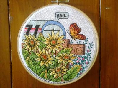 crysanthemum embroidery