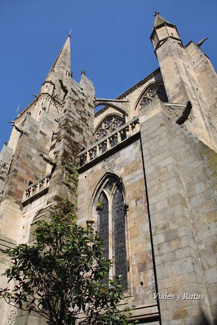 Catedral de Saint Malo, Bretaña, Francia