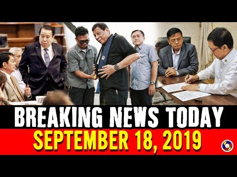 BREAKING NEWS TODAY SEPTEMBER 18, 2019 | PRES. DUTERTE | PING LACSON | GUEVARRA | CAYETANO