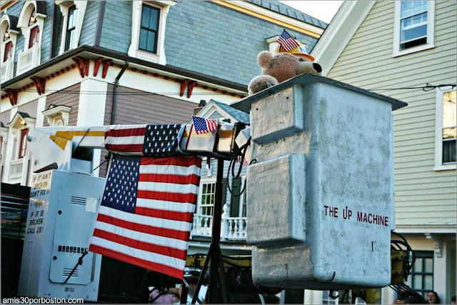Osito Americano en el Desfile del 4 de Julio en Rockport