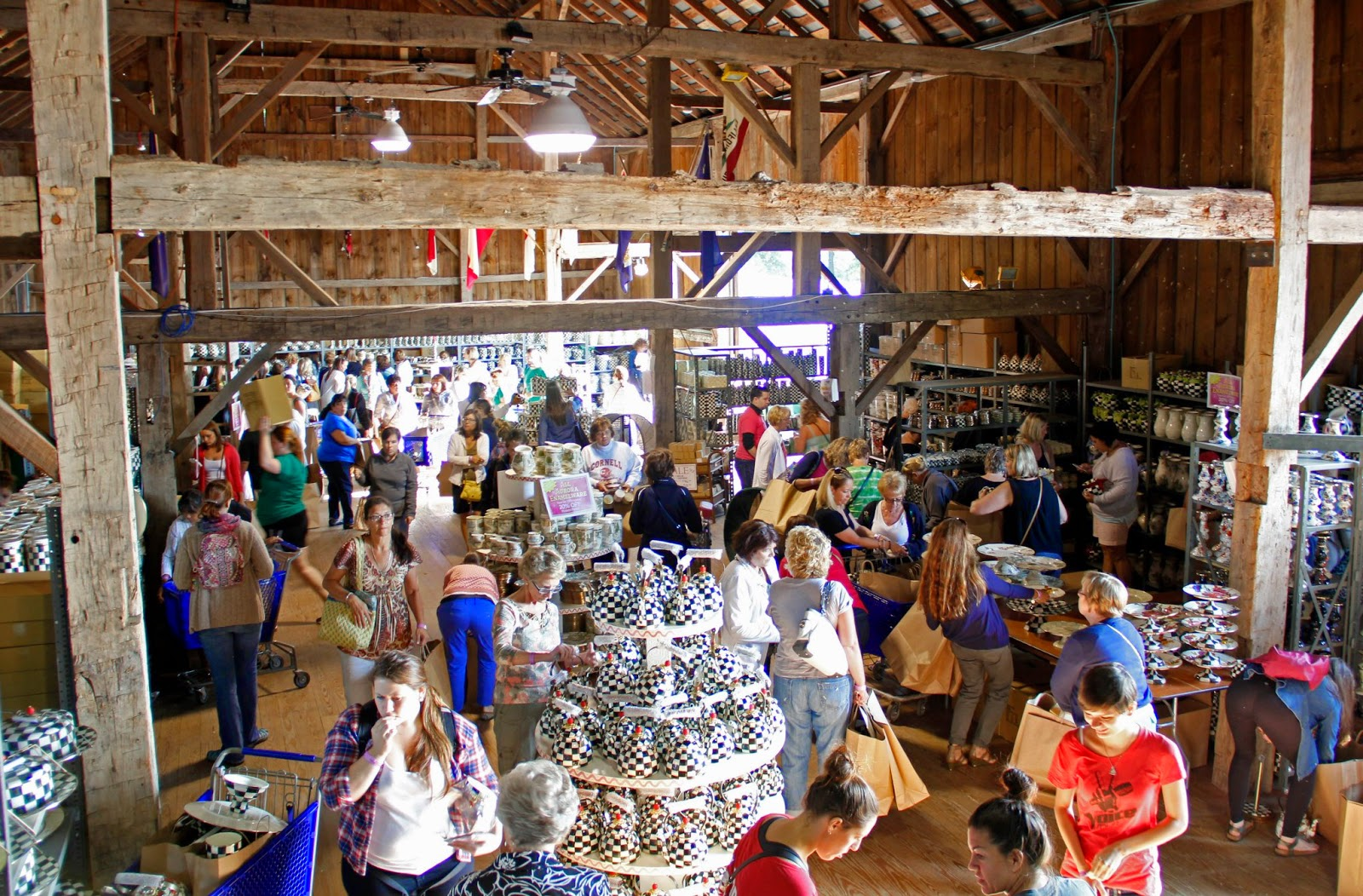 the times new roman the mackenzie childs barn sale With camp mackenzie childs