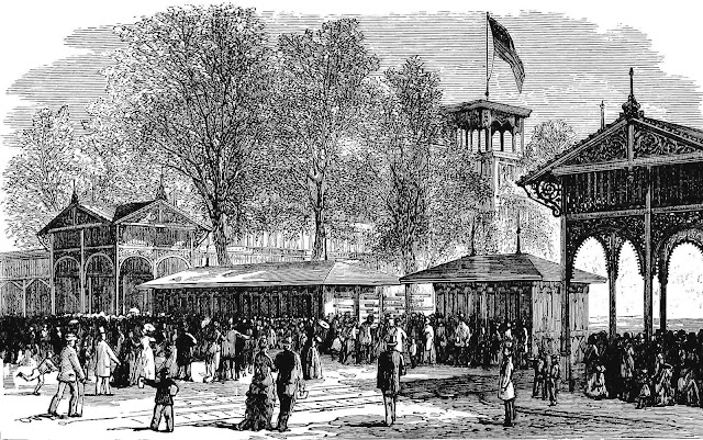 Centennial Exhibition of 1876 entrance gates