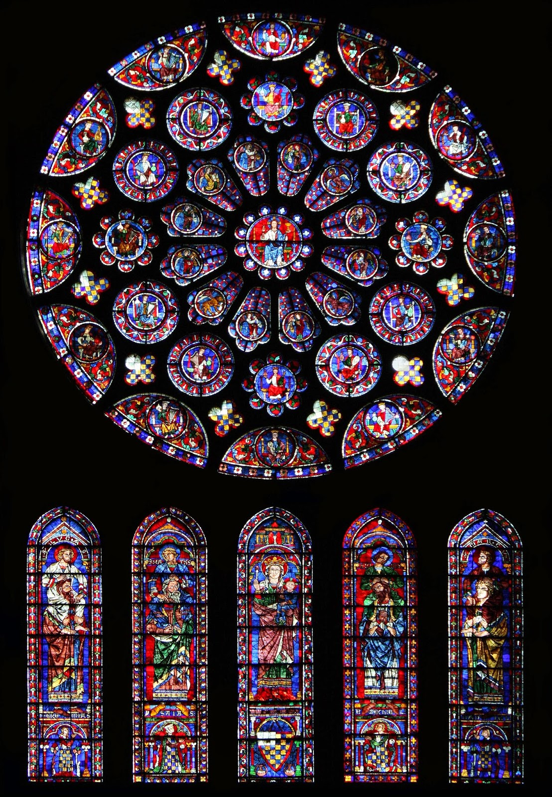 Living In The Lot Chartres Cathedral And Malcolm Miller