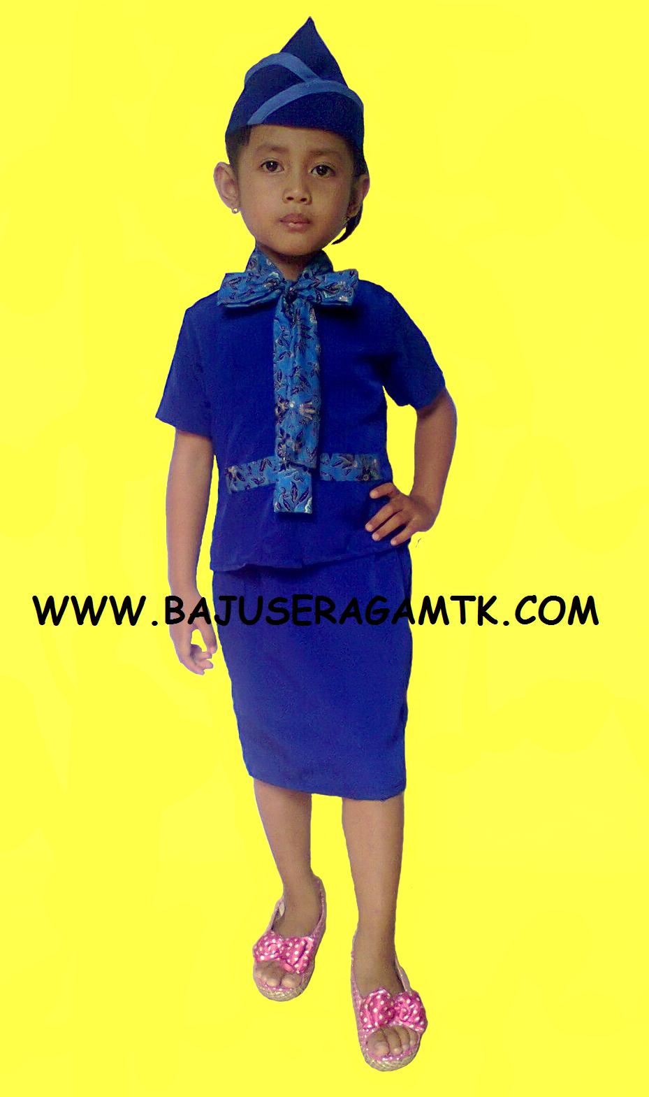 Contoh Gambar Seragam Batik Sekolah Seragam Batik