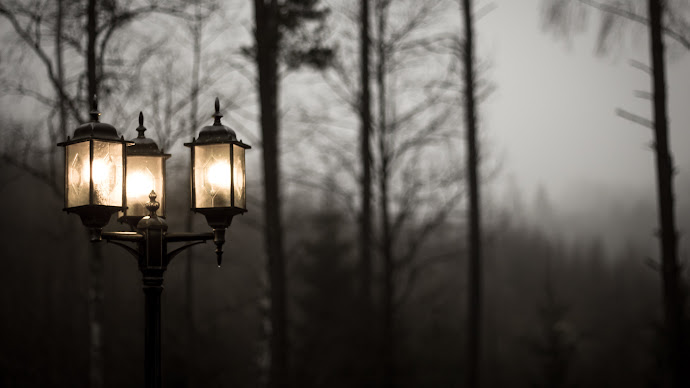 Wallpaper: Evening Lamppost