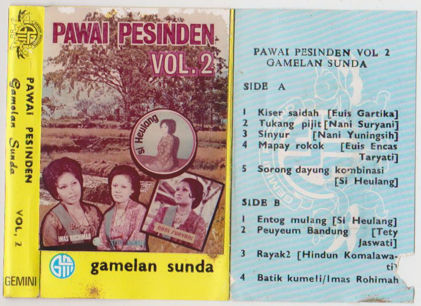 madrotter-treasure-hunt: PAWAI PESINDEN VOL. 2 - GAMELAN SUNDA