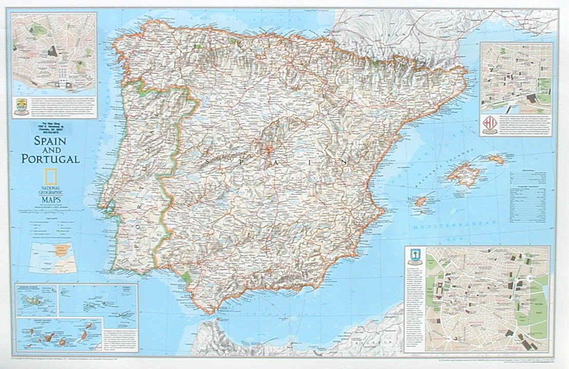 Karta Pa Spansk.Karta Over Spanien Regionen Karta Over Sverige Geografisk Fysisk