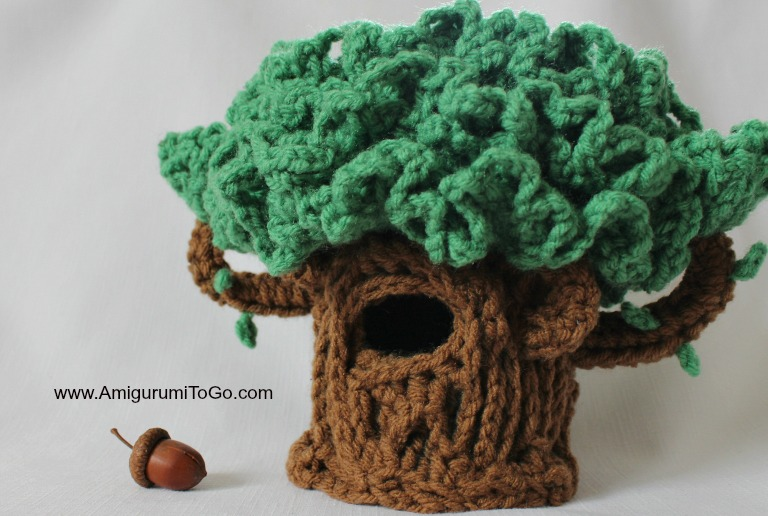 Amigurumi I To Go : Lil Oak ~ The Hiding Tree ~ Amigurumi To Go