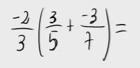 32.    Propiedad distributiva de números racionales