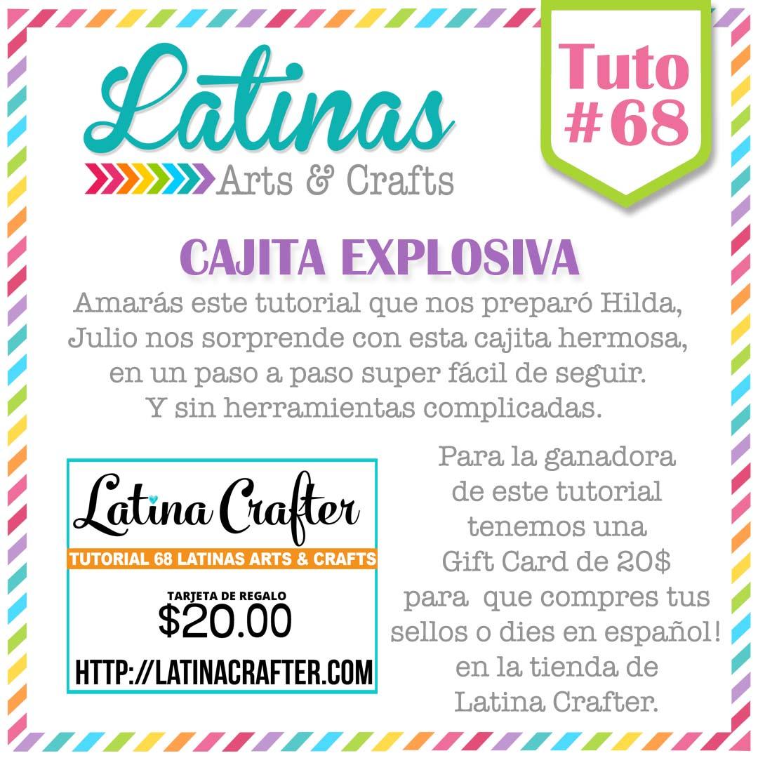 Manualidades polly tutorial 68 con lac cajita explosiva - La cajita manualidades ...