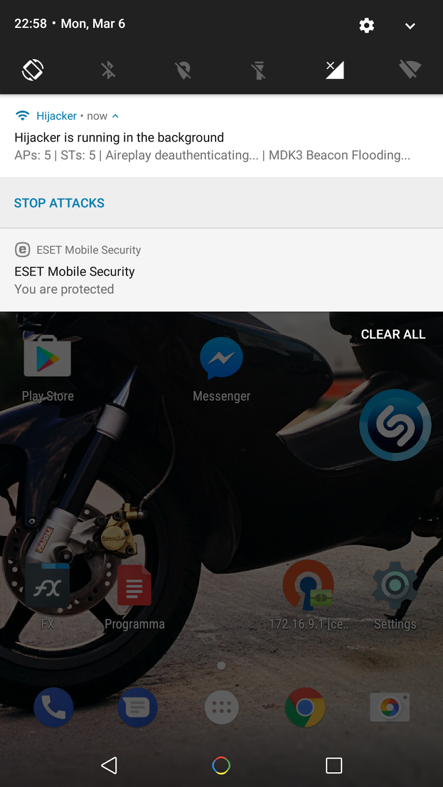 Hijacker v1 5 - All-in-One Wi-Fi Cracking Tools for Android
