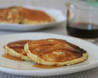 My Mom's Pancake Recipe, light and fluffy homemade pancakes, either buttermilk pancakes or sweet-milk pancakes. Just one more reason to Make Tonight #PancakeNight.