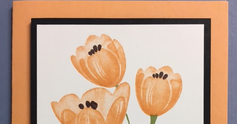Tranquil Tulips, Special Celebrations, Birthday Card