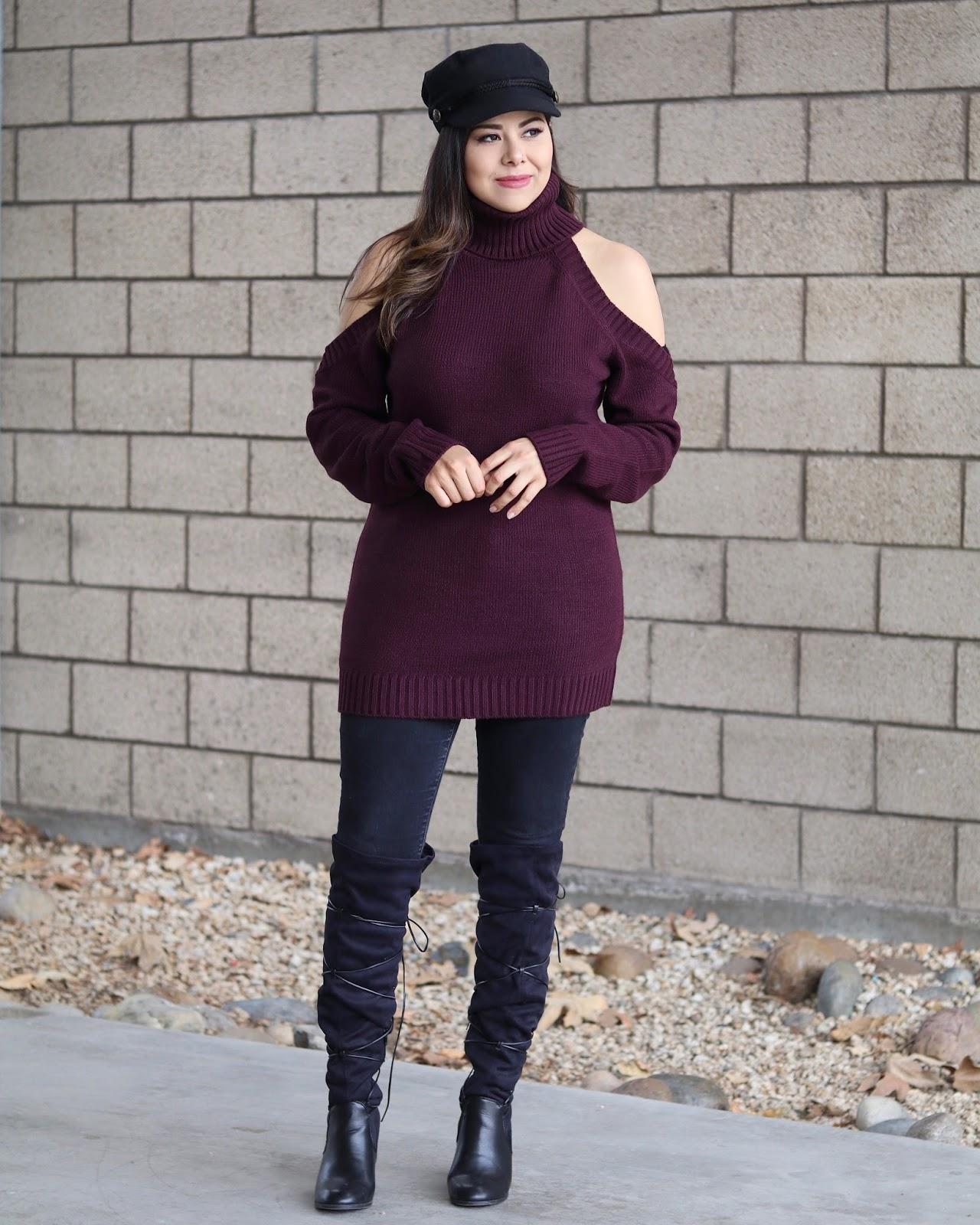 san diego fashion blogger, top san diego blogger,tobi sweater dress