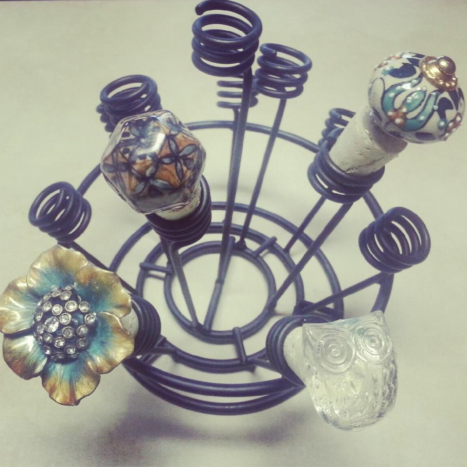 Decorative Wine Bottle Stoppers: Connoisseur Of Creativity: DIY Wine Or Decorative Bottle