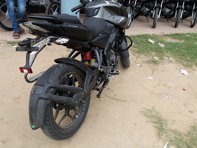 New 2017 Bajaj Pulsar NS160 Rear Taillight Image